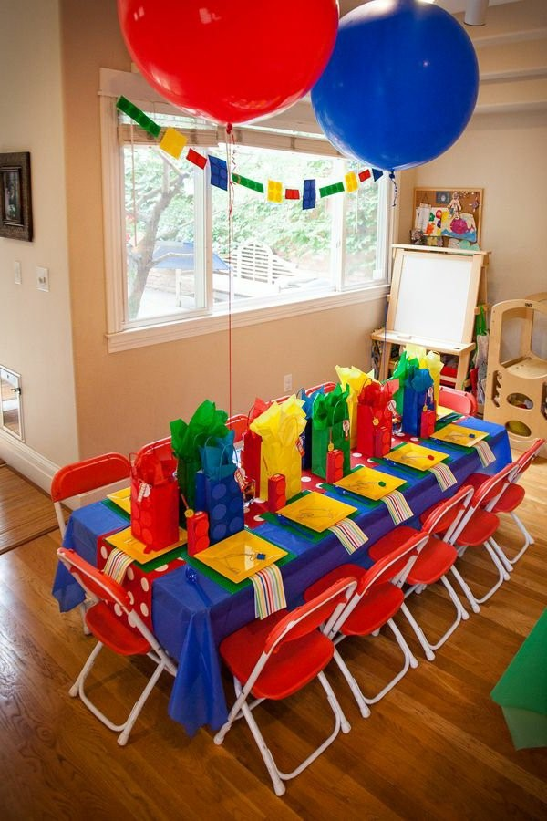 beautiful table decoration for a kids birthday party decoration 1