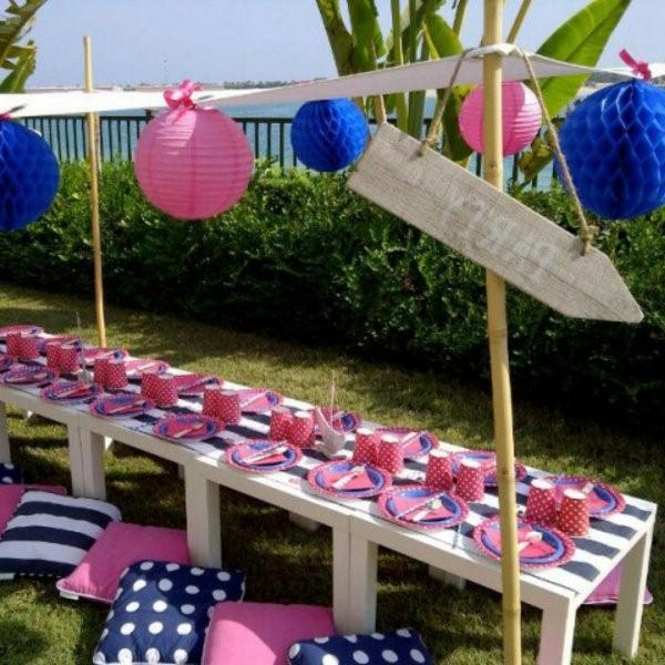 children party decoration ideas tischdeko outdoors