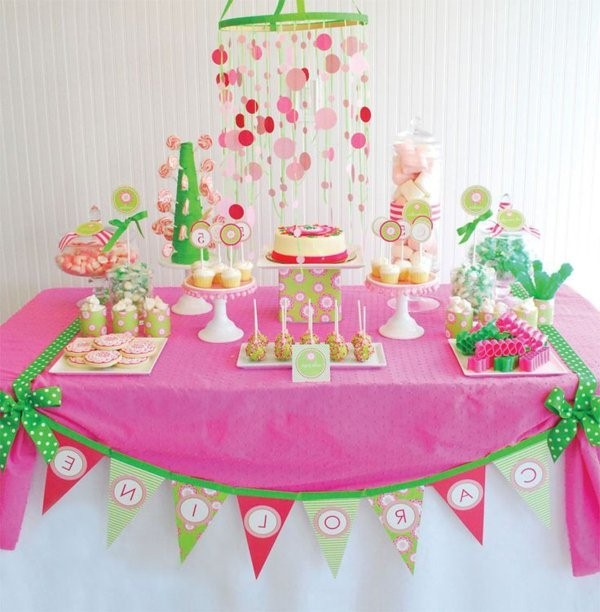 great birthday party with beautiful tischdeko party deco