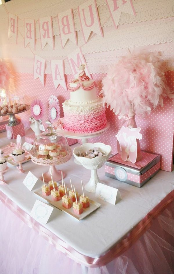 ideas for a great birthday party ideas deco madchenparty