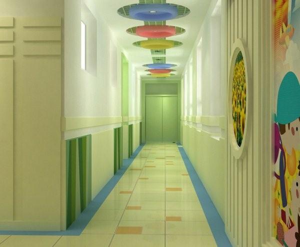 kindergarten interiors beautiful corridor