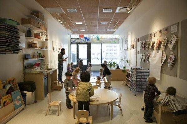 kindergarten interiors kids tinker inside