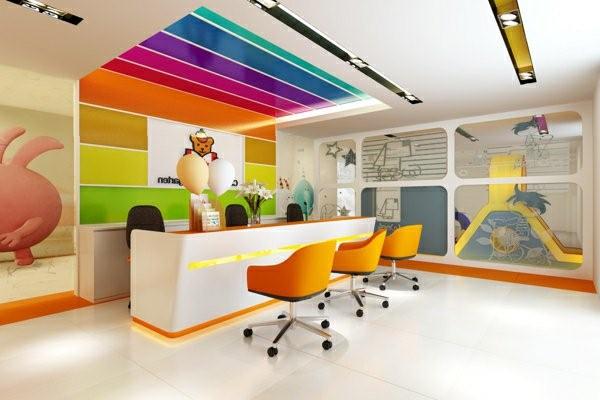 kindergarten interiors ultra modern reception