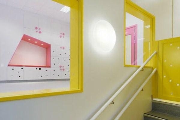 kindergarten interiors yellow accents