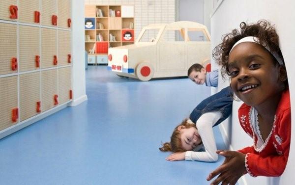 kindergarten toy car interiors