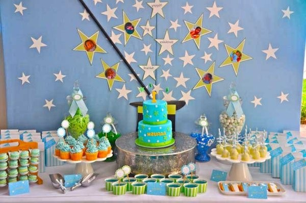 wonderful table decorations for a kids birthday party decoration