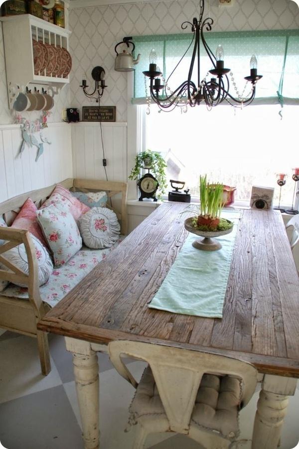 Cottage Kitchen white Französicher style