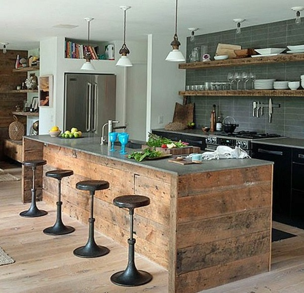 Hamptons interiors rustic