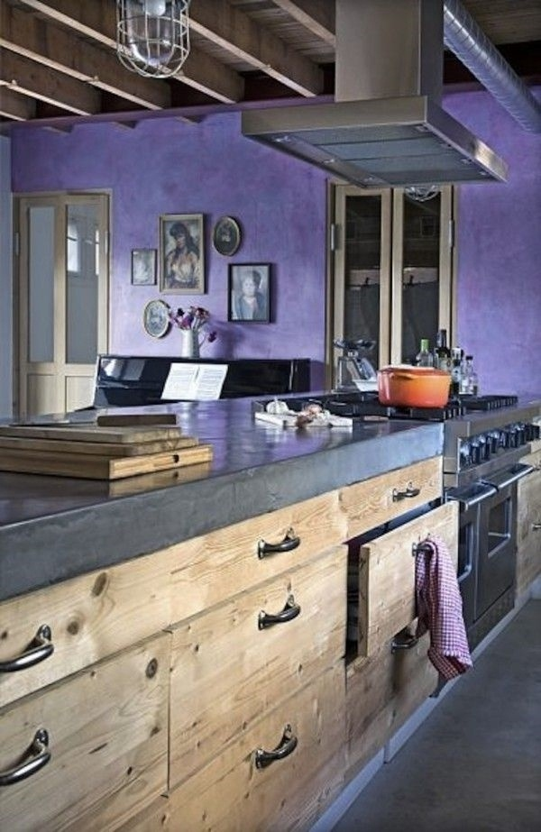 Ikea kitchen rustic