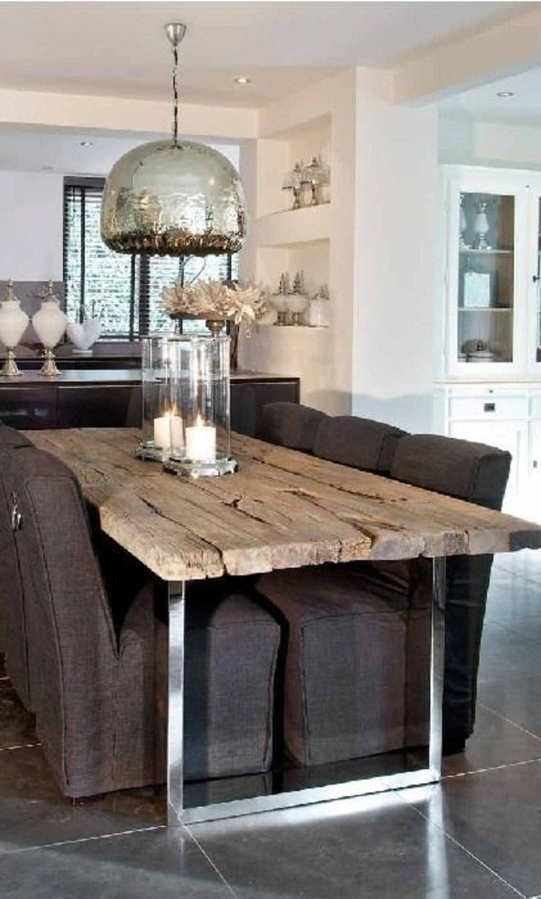 Kitchen in a rustic style