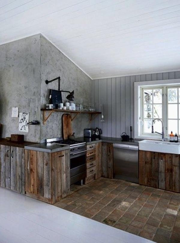 Norwegian wooden kitchen