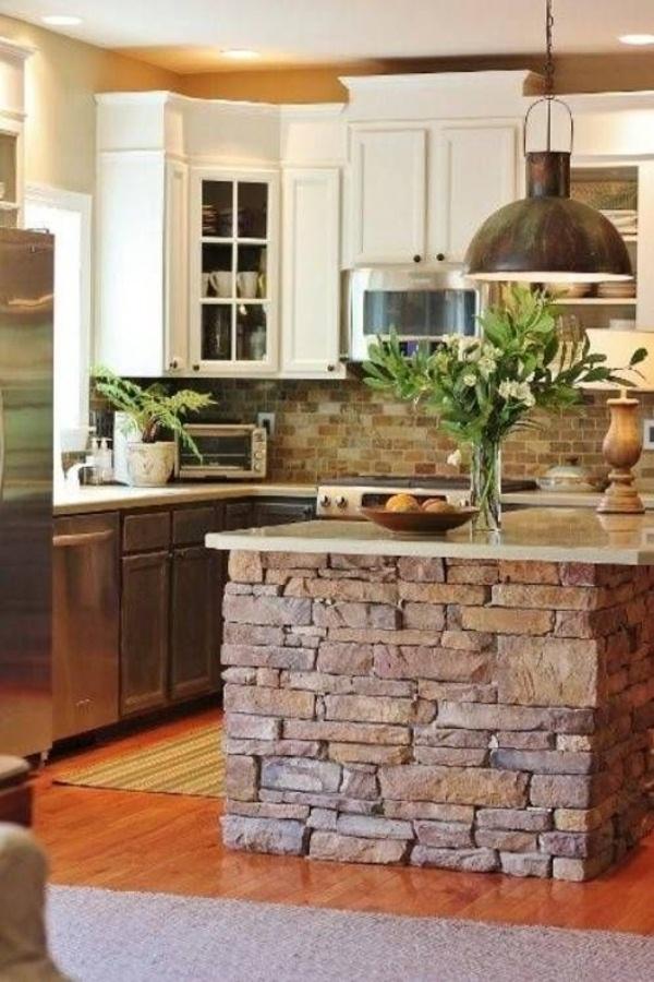 Rustic Kitchen Natural Greenwood