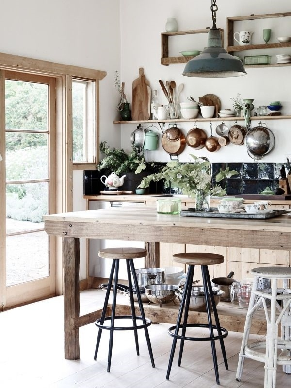 Rustic Kitchen outdated furniture