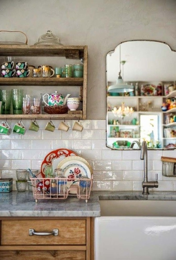 Vintage rustic country house kitchens