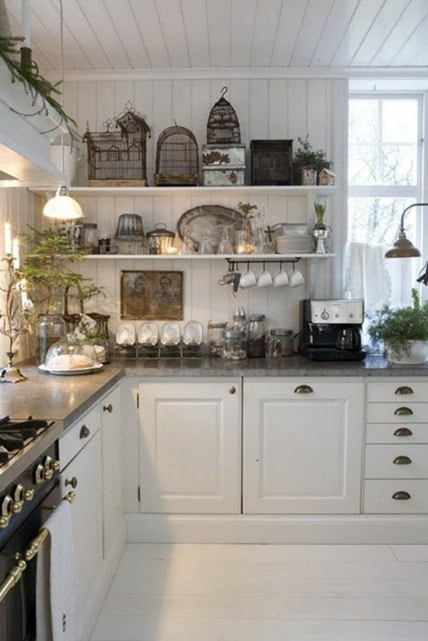 french country house kitchens