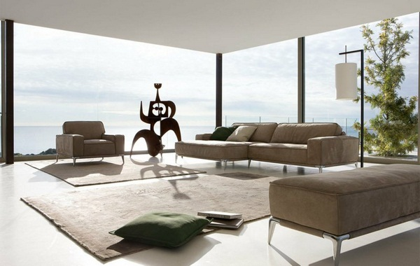 Roche Bobois decorating ideas living room set examples