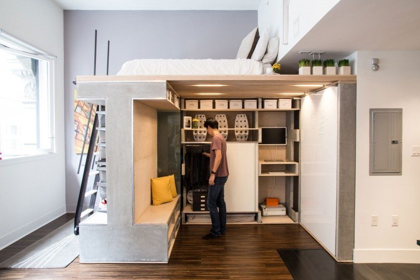 A Tiny Apartment in San Francisco, California