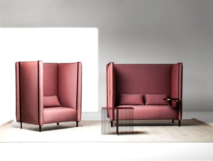 Pinch armchairs and sofas for public spaces decor10 blog - Outdoor sectionals for small spaces collection ...
