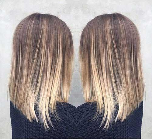 Long Bob Ombre Hair-10