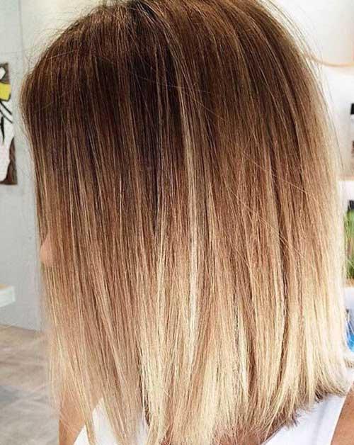 Long Bob Ombre Hair-6