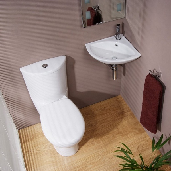 Visitors toilet trend -16 beautiful concepts for a modest bathroom ...