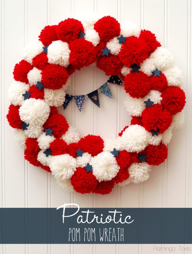 15 Amazing DIY 4th of July Wreath Ideas