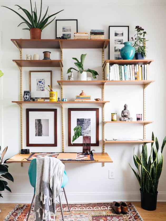 Diy ideas the best diy shelves decor10 blog - Homemade decoration ideas for living roomdiy decor ...