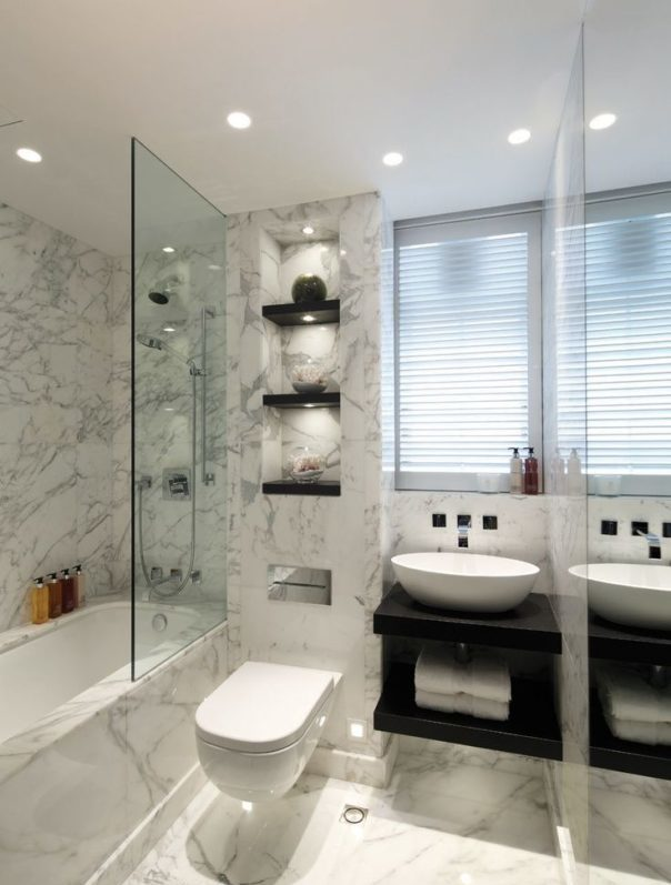 Glamorous bathrooms by kelly hoppen to copy decor10 blog for Interior decoration of small bathroom