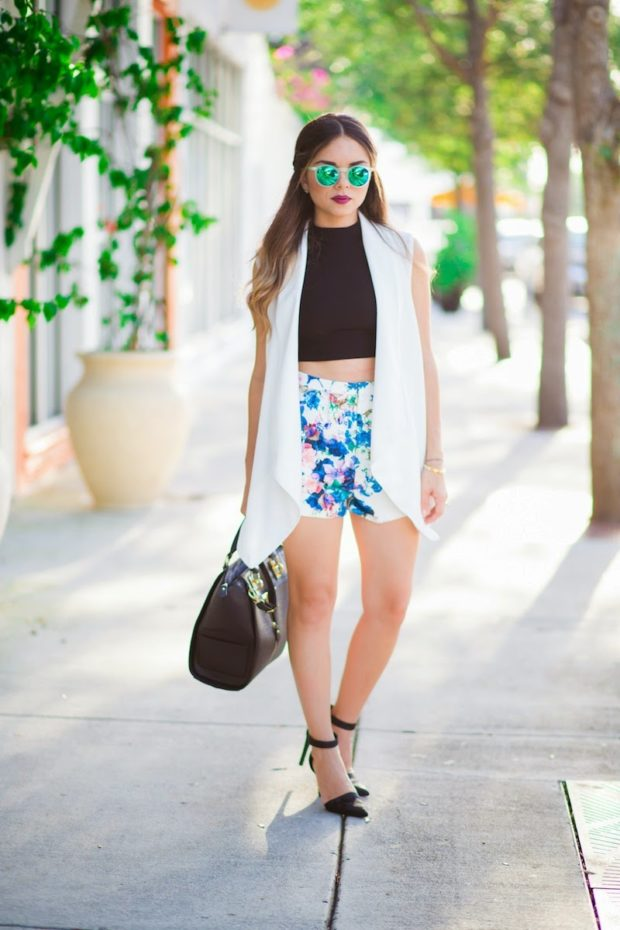17 Cute Summer Outfit Ideas with Shorts (Part 2)