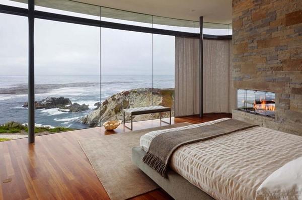 4-bedroom-interior-design-with-ocean-sea-view-panoramic-windows-bed
