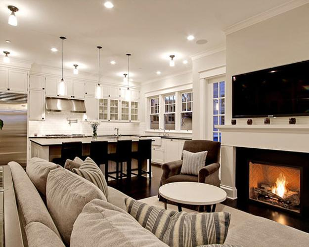 Tv and furniture placement ideas for functional and modern - Functional living room ideas ...