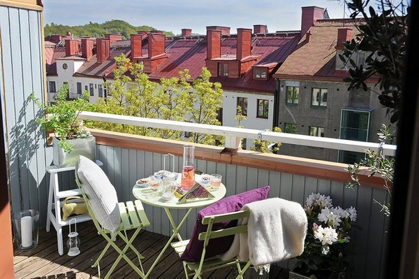 Balcony Furniture For Small Ideas