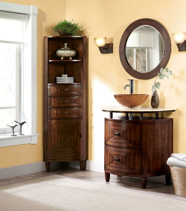 corner cabinet and other furniture of the corner or how to make the most of the tricky places bathroom corner furniture