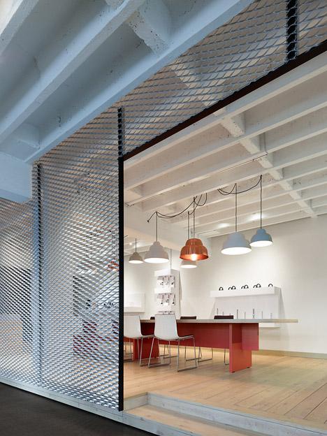 alexander fehre designed movet office loft for manufacturer movet