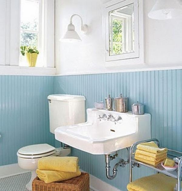 12 sunny yellow bathroom design ideas decor10