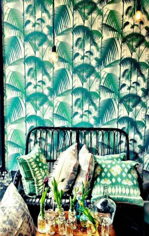 room color design wall design Throw Pillow