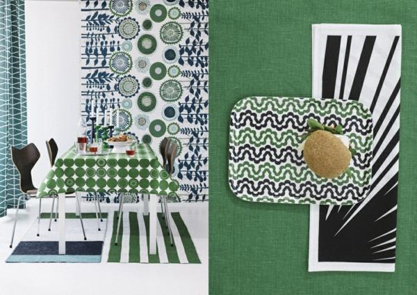 room color scheme greens