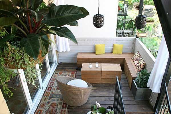 Beautiful Balcony Decoration Ideas For Inspiration