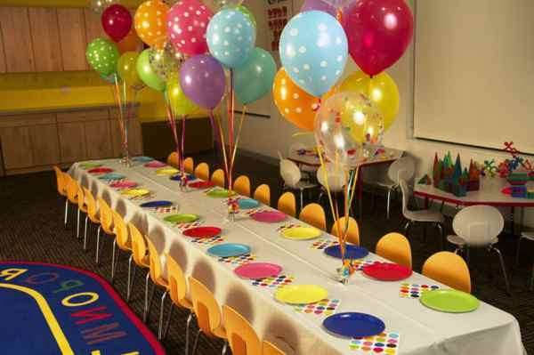 Wonderful Table Decorations For The Children S Birthday Decor10 Blog