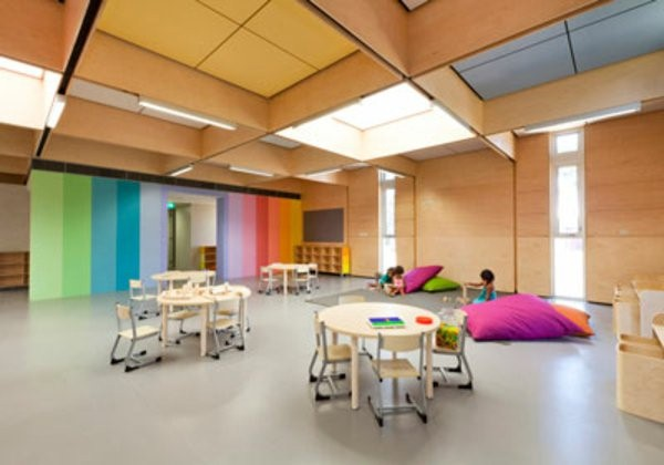 kindergarten interiors cool big room mi room high ceiling