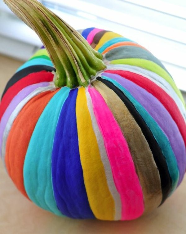 kindergarten interiors pumpkin in colorful colors