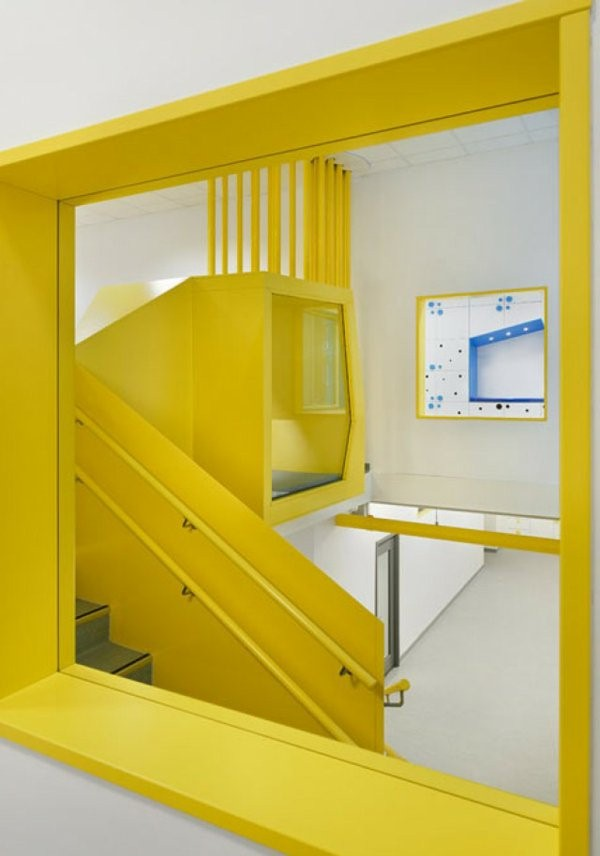 kindergarten interiors yellow carpet
