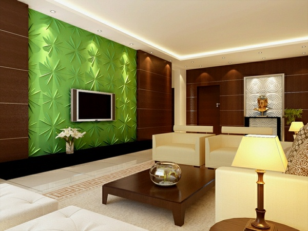 Tv wall panel 35 ultra modern proposals decor10 blog for Living room paneling designs