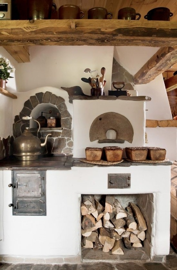 Cottage Kitchen Wood