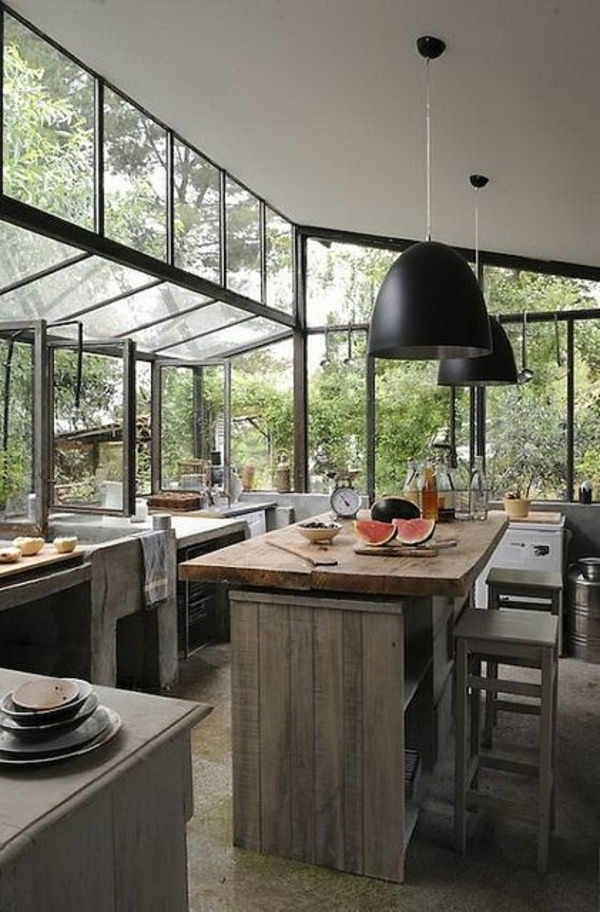Glass Cottage Kitchen