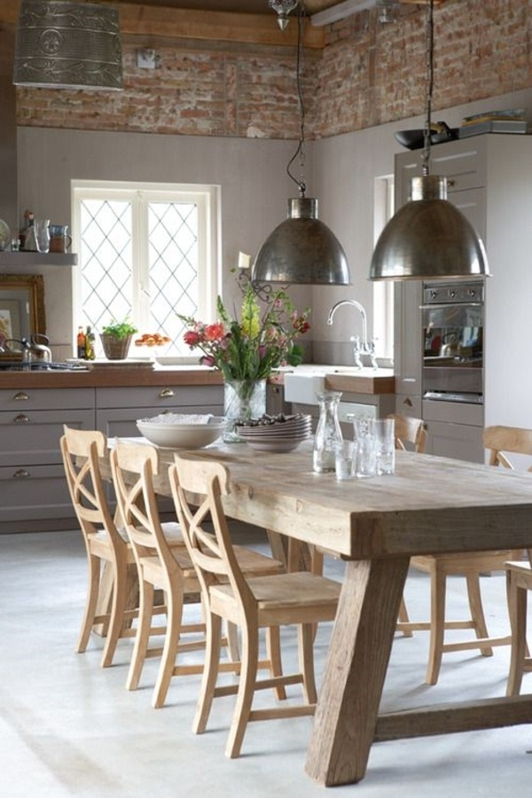 Kitchen rustic style