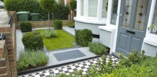 Landscaping-with-gravel-green