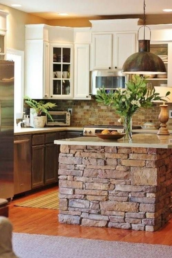 Rustic Kitchen Natural Greenwood