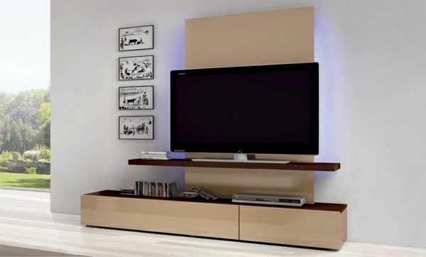 TV wall wallcovering wall design wall panels Wooden wall paneling