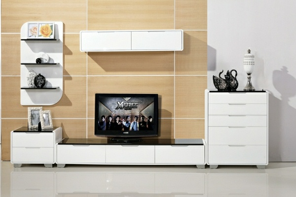 Tv wall panel 35 ultra modern proposals decor10 blog for Tv cabinet designs for hall